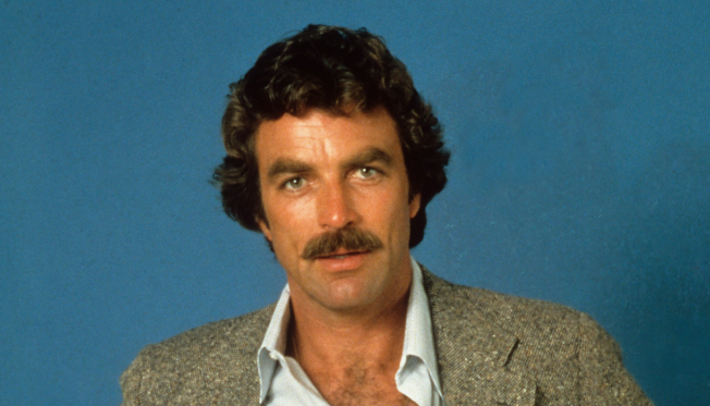 Tom Selleck, a famous actor