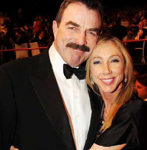 Tom Selleck with his wife, Jillie Joan Mack