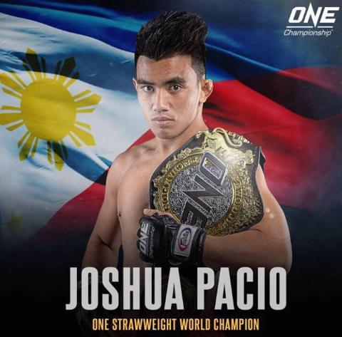 Joshua Pacio, a famous fighter