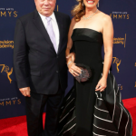 William Shatner and his fourth ex-wife,