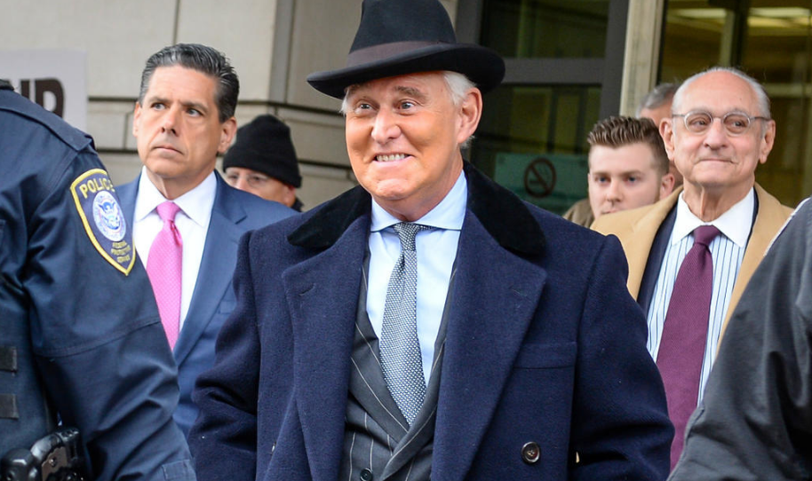 Roger Stone Gets 40 Months Prison