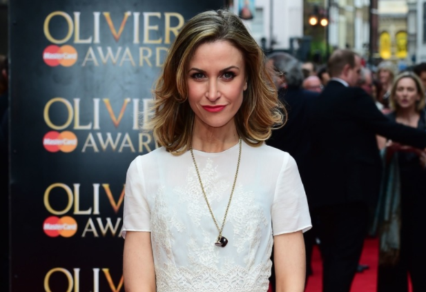 Katherine Kelly, a famous actress and presenter