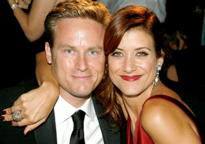 Kate Walsh with her first husband, Alex Young