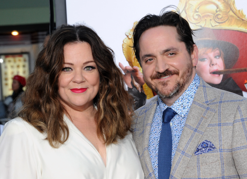 Melissa McCarthy With Her Husband Ben Falcone