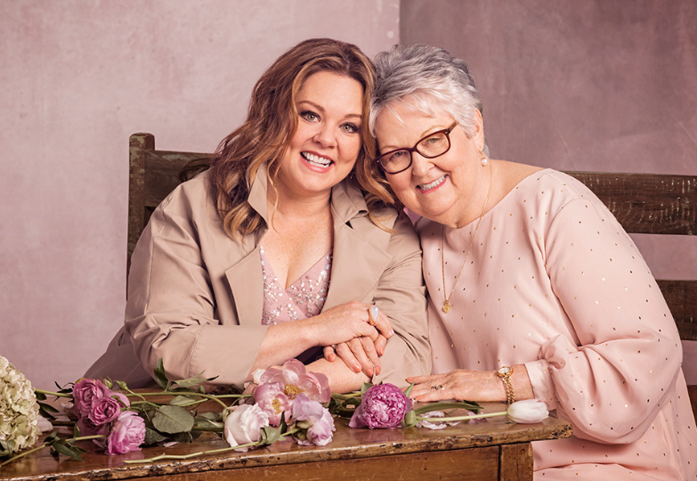 Melissa McCarthy With Her Mother, Sandra McCarthy