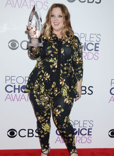 Melissa McCarthy With People's Choice Awards