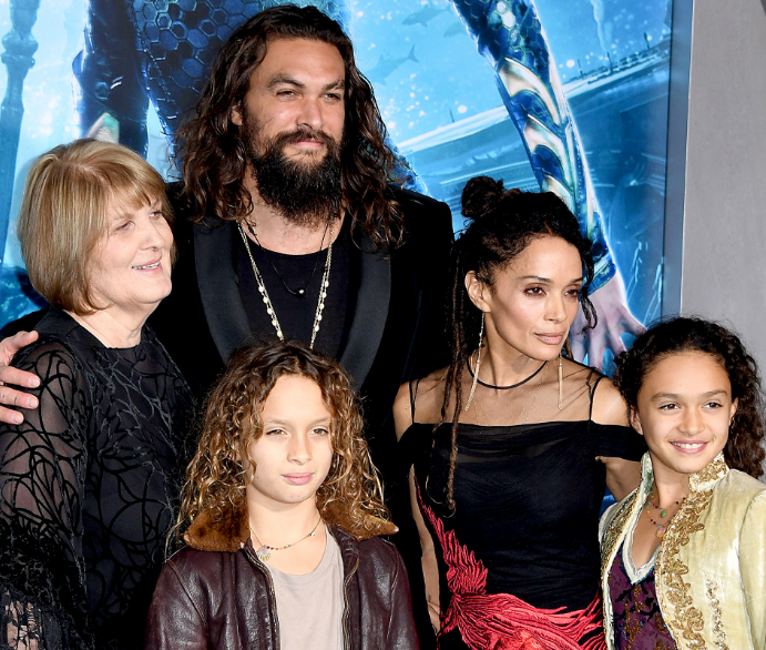 Lisa Bonet With Her Husband and Child
