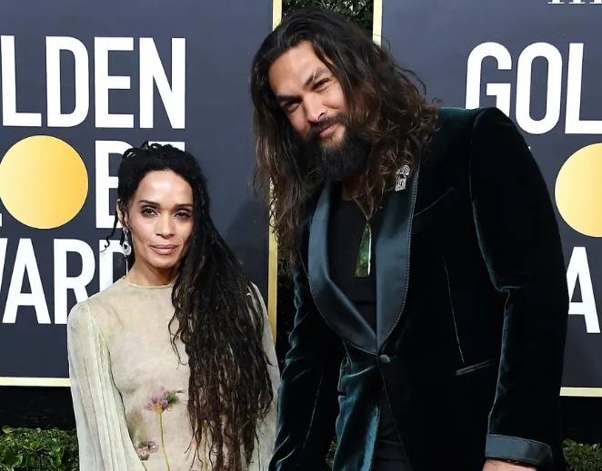Lisa Bonet With Her Husband, Jason Momoa At Golden Globes 2020 Awards