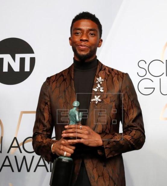 Chadwick Boseman awards