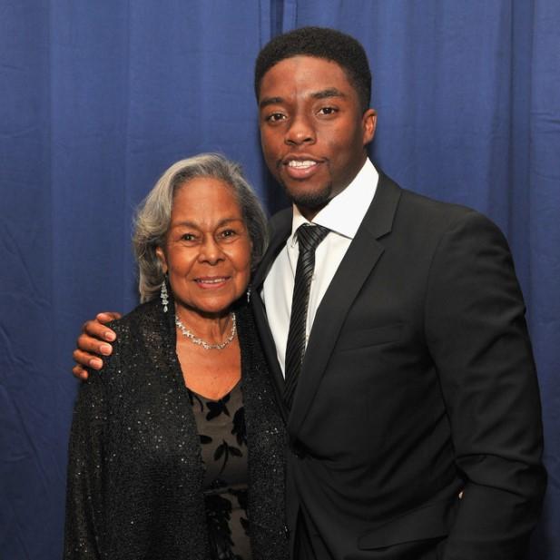 Chadwick Boseman mother