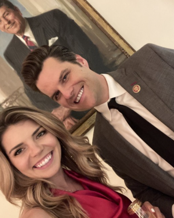 Matt Gaetz and Ginger Luckey Engaged