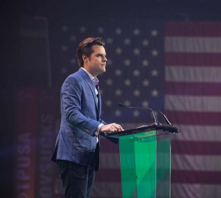 Matt Gaetz Speeching