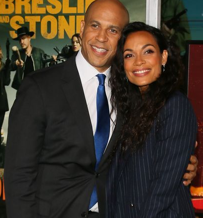 Rosario With Her Boyfriend Senator Cory Booker