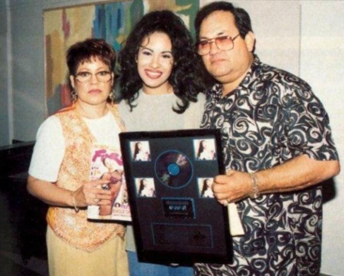 Selena Quintanilla parents