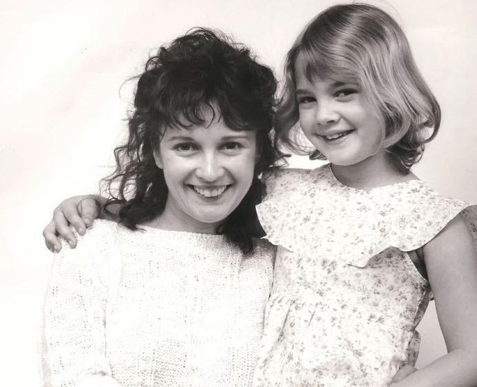 Drew Barrymore and her mom, Jaid Barrymore