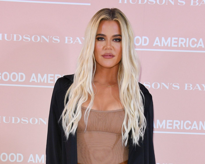 Khloe Kardashian, a famous model and TV personality