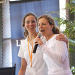Clare Bronfman and her sister, Sara Bronfman