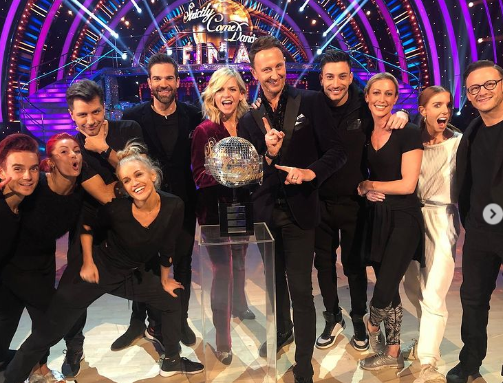 In October 2005, Ball became a contestant on Strictly Come Dancing partnering with Ian Waite