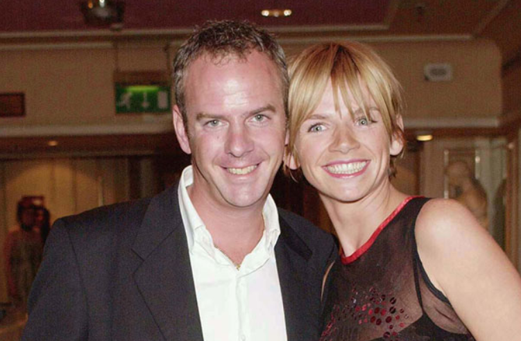 Zoe Ball and her ex-husband, Norman Cook