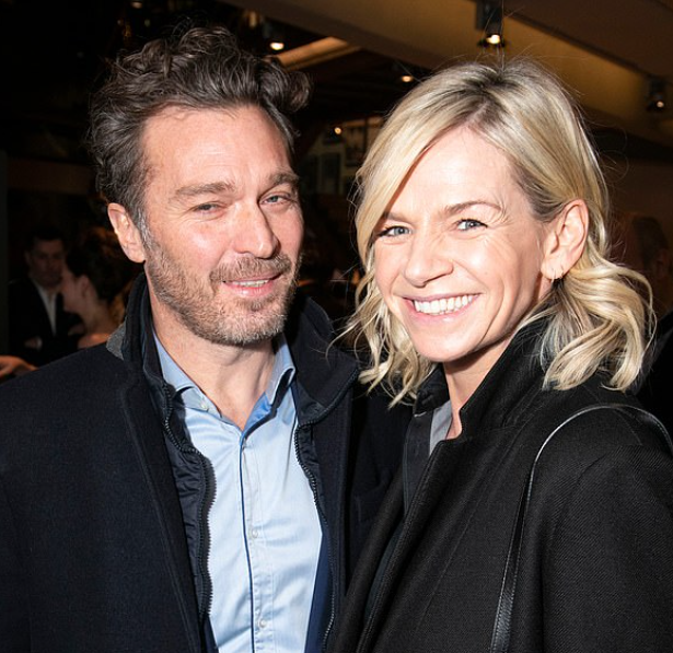 Zoe Ball and his new boyfriend, Michael Reed