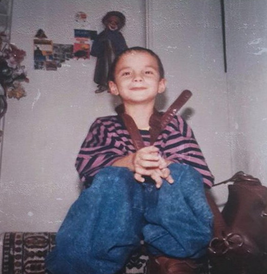 J Balvin Childhood Picture