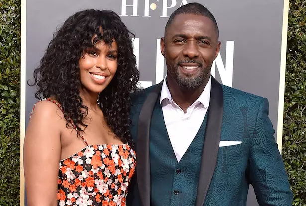 Idris Elba, Wife of Sabrina Dhowre