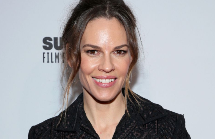 Hilary Swank, a professional actress