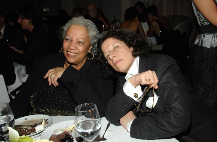Fran Lebowitz and Toni Morrison