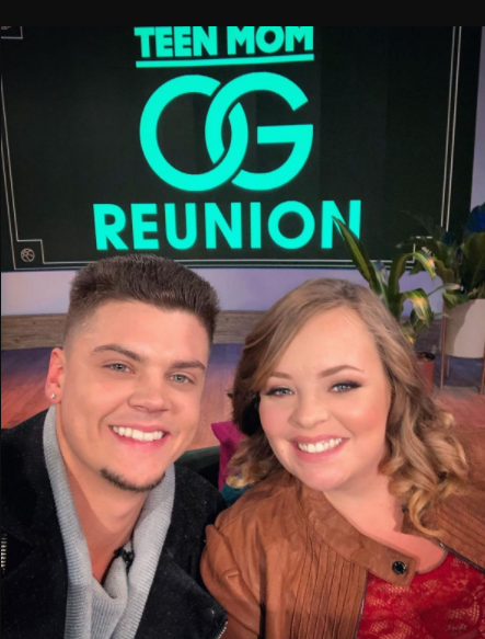 Teen Mom stars' Tyler Baltierra and Catelynn Baltierra