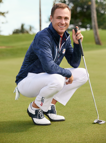 Justin Thomas, a famous professional golfer