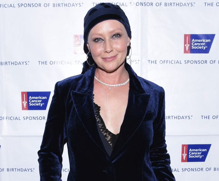 Shannen Doherty, shares an update on her battle with stage 4 breast cancer
