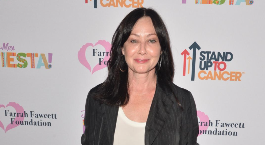 Shannen Doherty, a famous actress