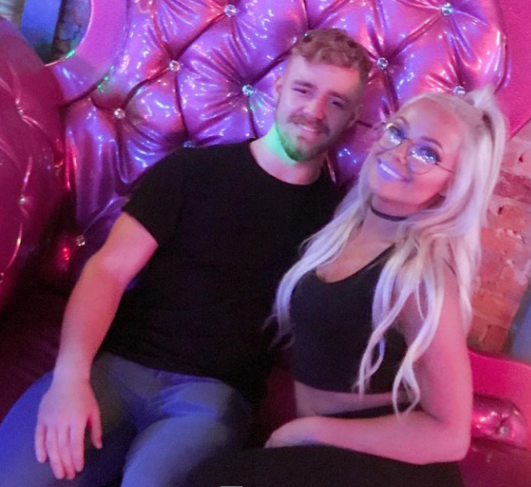Liv Morgan With Tyler Bate