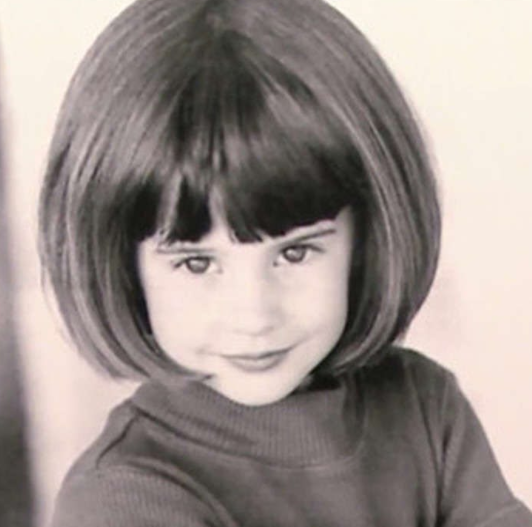 Childhood Picture of Shailene Woodley