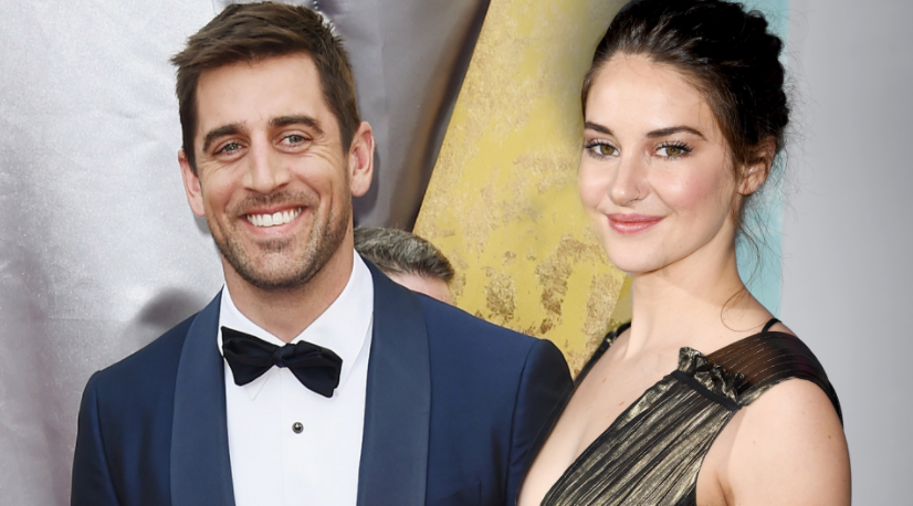 Shailene Woodley and her fiance, Aaron Rodgers