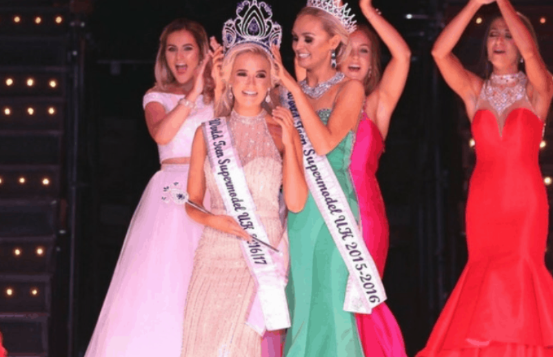 Molly-Mae Hague was Crowned World Teen Supermodel UK 2016-2017
