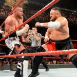 Samoa Joe Against The Opponent