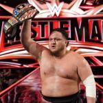 Samoa Joe Holding The Belt