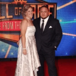 Samoa Joe with his wife, Jessica Seneo