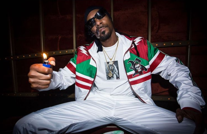 Snoop Dogg was given a star on the Hollywood Walk of Fame in 2018