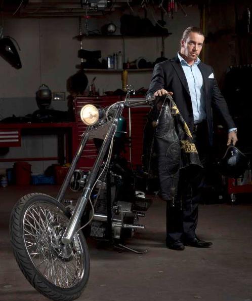 Jan Emmaneuel Johansson With Bike