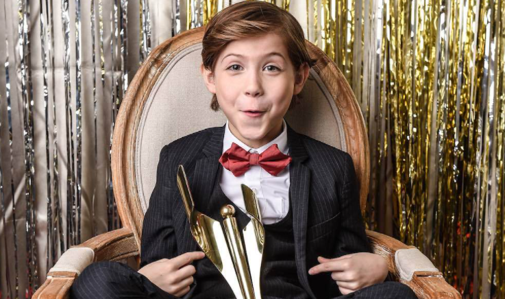 Jacob Tremblay at the Canadian Screen Awards