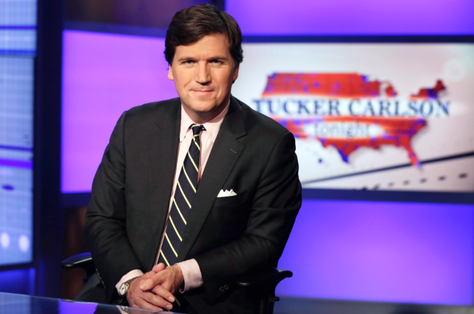Tucker Carlson, a famous TV Presenter and political commentator