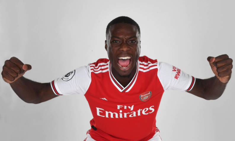Nicolas Pepe, a professional football player
