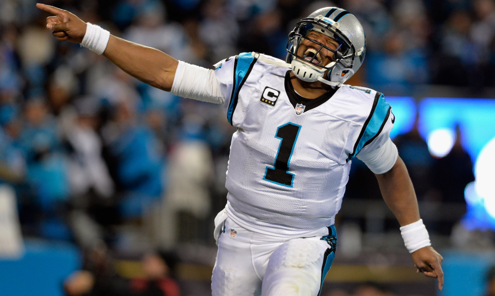 Cam Newton, a professional Football Quarterback
