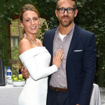 Ryan Reynolds With Blake Lively In Party