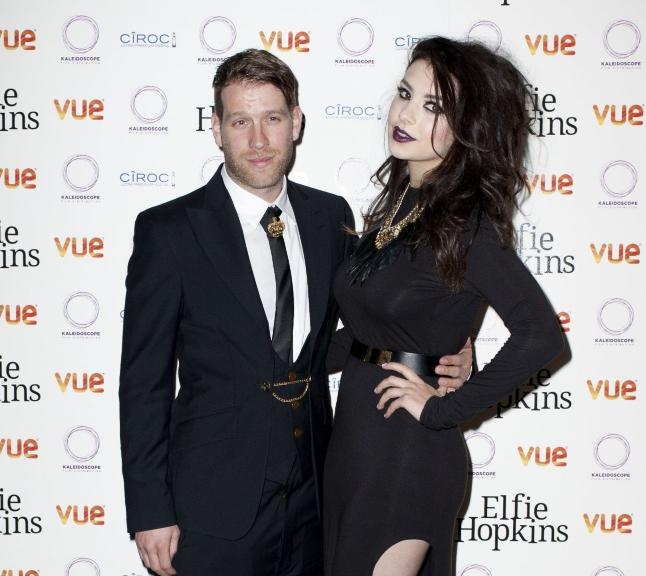 Charli XCX with her ex boyfriend Ryan Andrews