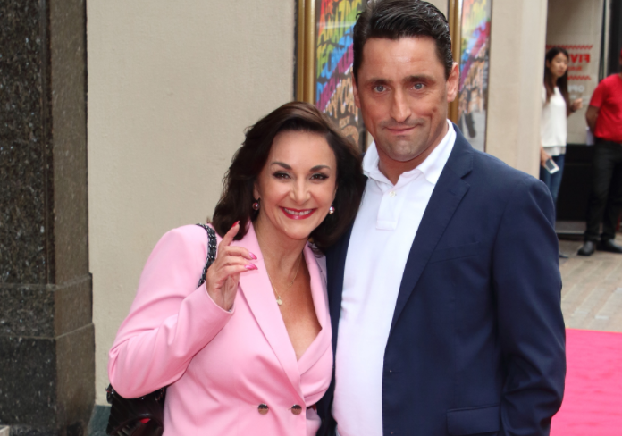 Shirley Ballas with her boyfriend, Danny Taylor