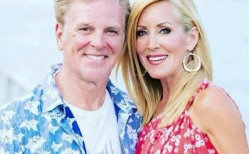 Beth McLeod With Her Husband
