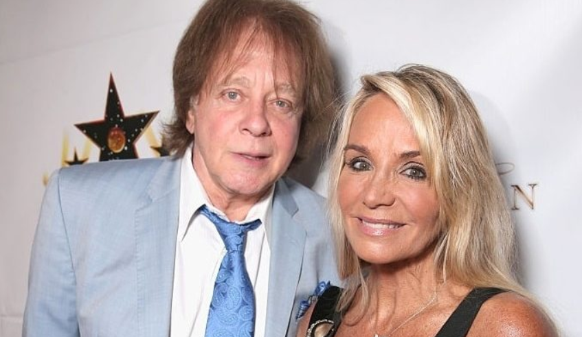 Laurie Money With Her Husband, Eddie